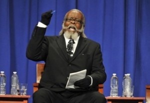 Jimmy McMillan cleaning up at the Knoxville Mayoral Candidate Debate